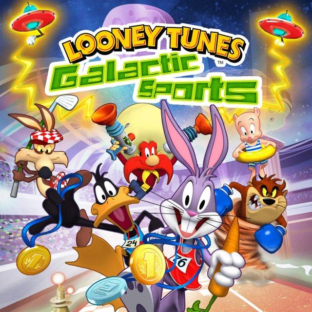 Face avant du boxart du jeu Looney Tunes - Galactic Sports (Australie) sur Sony PS Vita