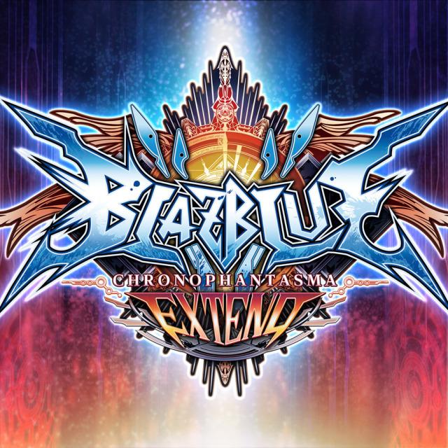 Face avant du boxart du jeu BlazBlue - Chrono Phantasma Extend (Japon) sur Sony PS Vita