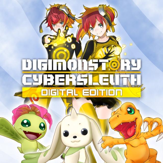 Face avant du boxart du jeu Digimon Story Cyber Sleuth (Europe) sur Sony PS Vita