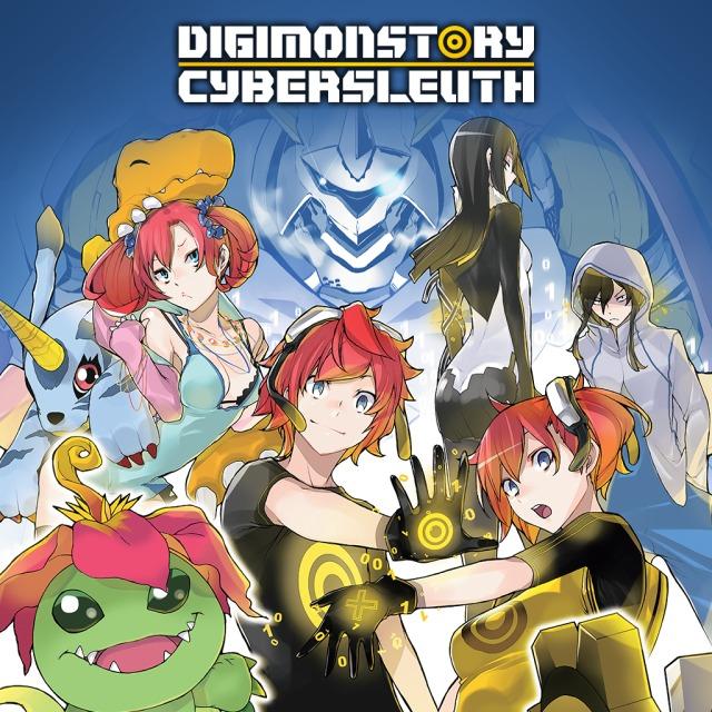 Face avant du boxart du jeu Digimon Story Cyber Sleuth (Etats-Unis) sur Sony PS Vita