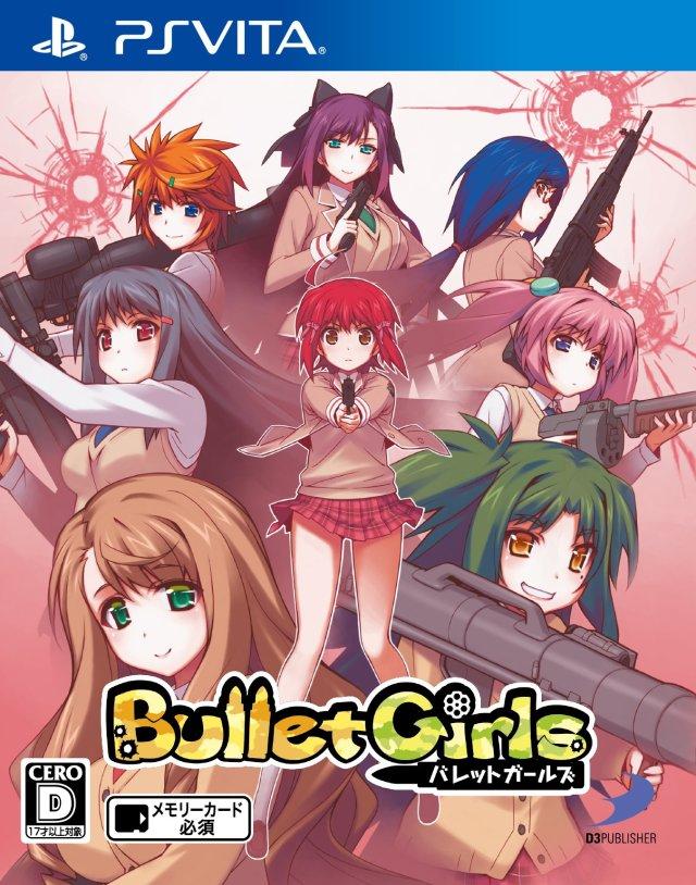 Face avant du boxart du jeu Bullet Girls (Japon) sur Sony PS Vita