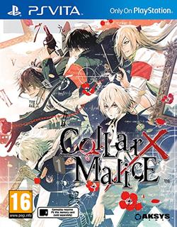 Face avant du boxart du jeu Collar x Malice (Europe) sur Sony PS Vita