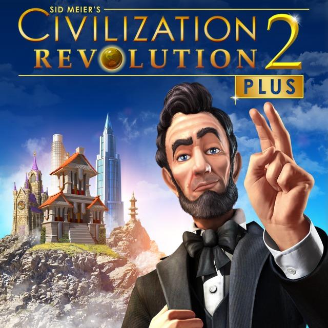 Face avant du boxart du jeu Sid Meier's Civilization Revolution 2+ (Europe) sur Sony PS Vita