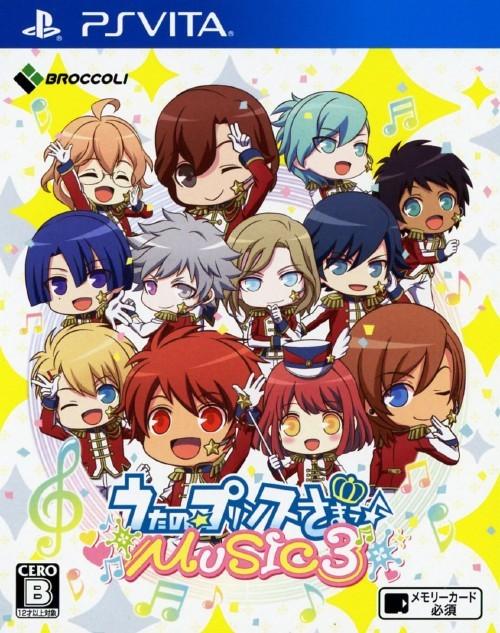 Face avant du boxart du jeu Uta no * Prince-Sama - Music 3 (Japon) sur Sony PS Vita