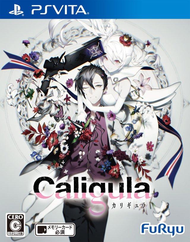 Face avant du boxart du jeu Caligula (Japon) sur Sony PS Vita