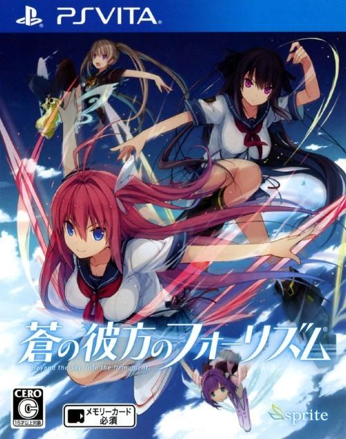 Face avant du boxart du jeu Ao no Kanata no Four Rhythm (Japon) sur Sony PS Vita