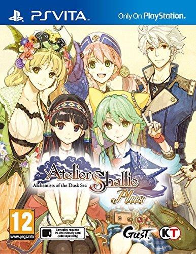 Face avant du boxart du jeu Atelier Shallie Plus - Alchemists of the Dusk Sea (Europe) sur Sony PS Vita