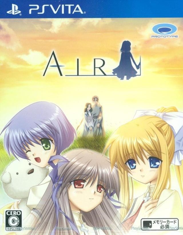 Face avant du boxart du jeu Air (Japon) sur Sony PS Vita