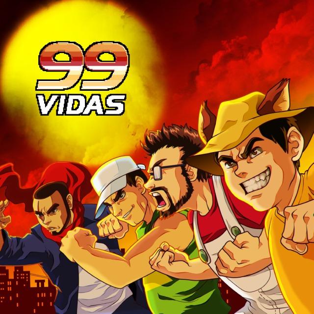 Face avant du boxart du jeu 99Vidas (Etats-Unis) sur Sony PS Vita