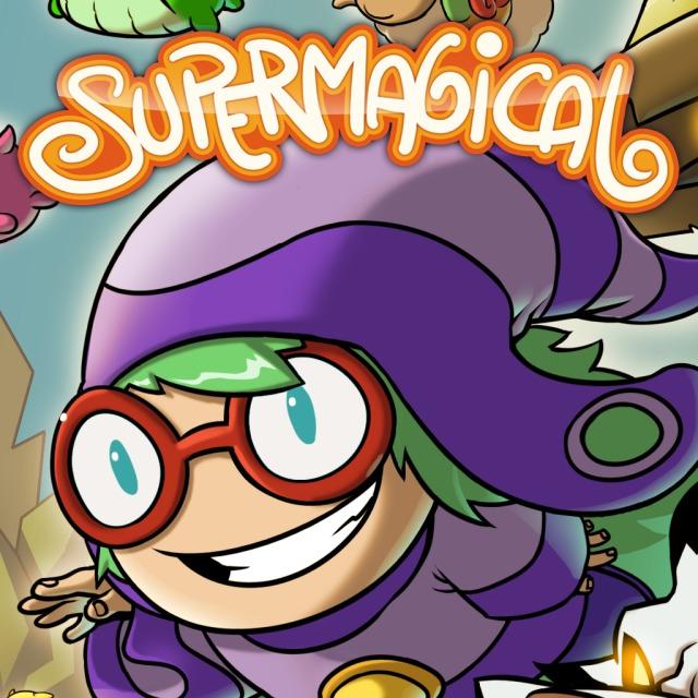 Face avant du boxart du jeu Supermagical (Etats-Unis) sur Sony PS Vita