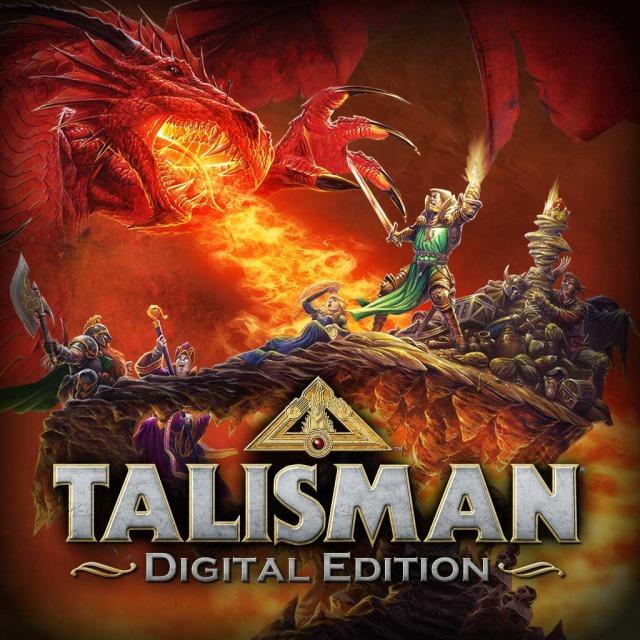 Face avant du boxart du jeu Talisman - Digital Edition (Etats-Unis) sur Sony PS Vita