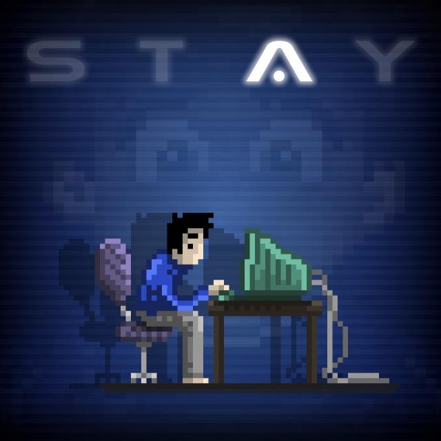 Face avant du boxart du jeu STAY (Australie) sur Sony PS Vita