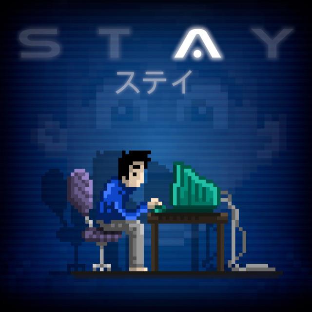 Face avant du boxart du jeu STAY (Japon) sur Sony PS Vita