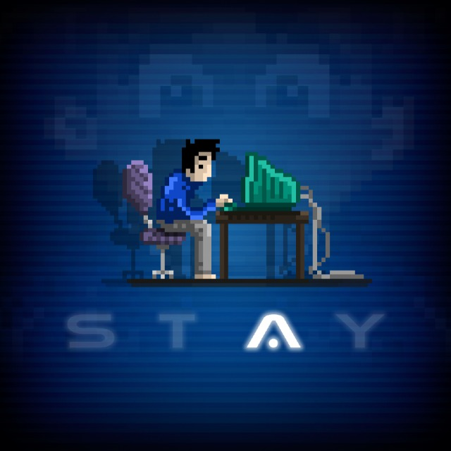 Face avant du boxart du jeu STAY (Etats-Unis) sur Sony PS Vita