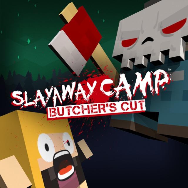 Face avant du boxart du jeu Slayaway Camp - Butcher's Cut (Australie) sur Sony PS Vita