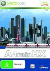 Face avant du boxart du jeu A-Train HX (Australie) sur Microsoft Xbox 360