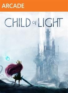 Face avant du boxart du jeu Child of Light (Etats-Unis) sur Microsoft Xbox 360