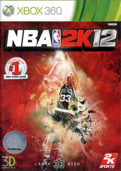 Face avant du boxart du jeu NBA 2K12 (Asie) sur Microsoft Xbox 360
