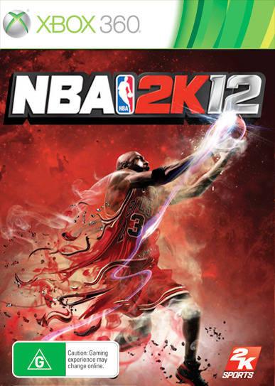 Face avant du boxart du jeu NBA 2K12 (Australie) sur Microsoft Xbox 360