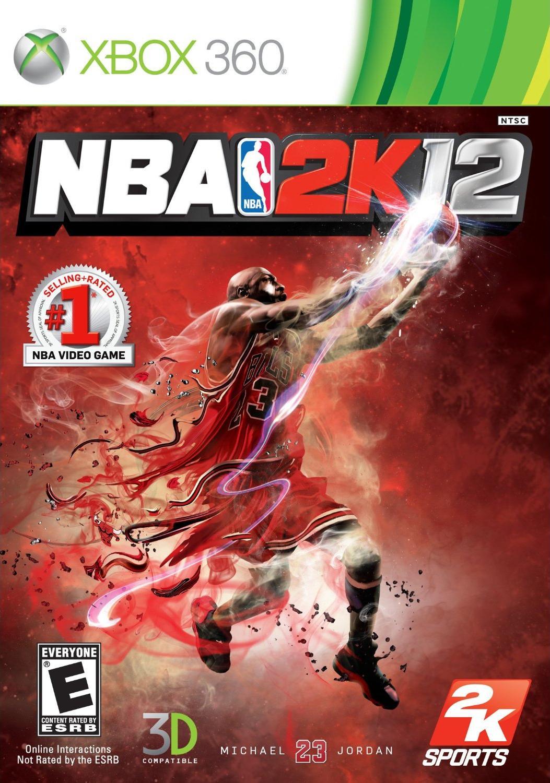 Face avant du boxart du jeu NBA 2K12 (Etats-Unis) sur Microsoft Xbox 360