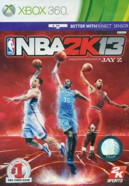 Face avant du boxart du jeu NBA 2K13 (Asie) sur Microsoft Xbox 360