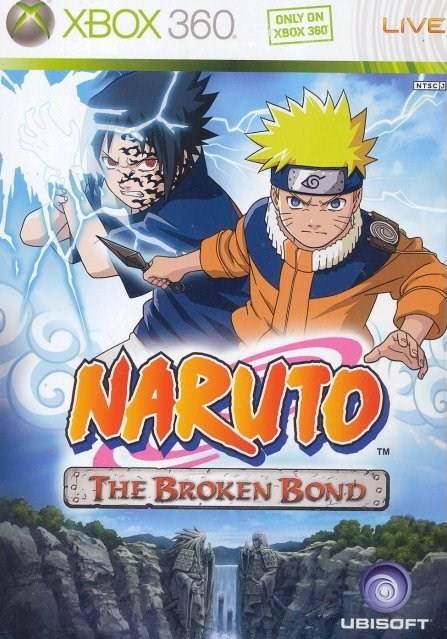 Face avant du boxart du jeu Naruto - The Broken Bond (Asie) sur Microsoft Xbox 360
