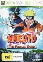 Face avant du boxart du jeu Naruto - The Broken Bond (Australie) sur Microsoft Xbox 360