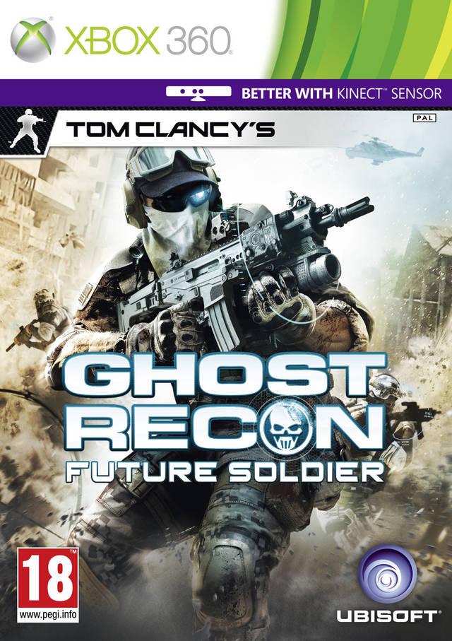Face avant du boxart du jeu Tom Clancy's Ghost Recon - Future Soldier (Europe) sur Microsoft Xbox 360