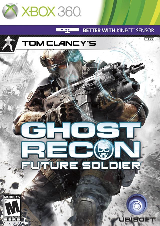 Face avant du boxart du jeu Tom Clancy's Ghost Recon - Future Soldier (Etats-Unis) sur Microsoft Xbox 360