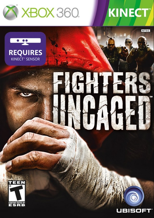 Face avant du boxart du jeu Fighters Uncaged (Etats-Unis) sur Microsoft Xbox 360