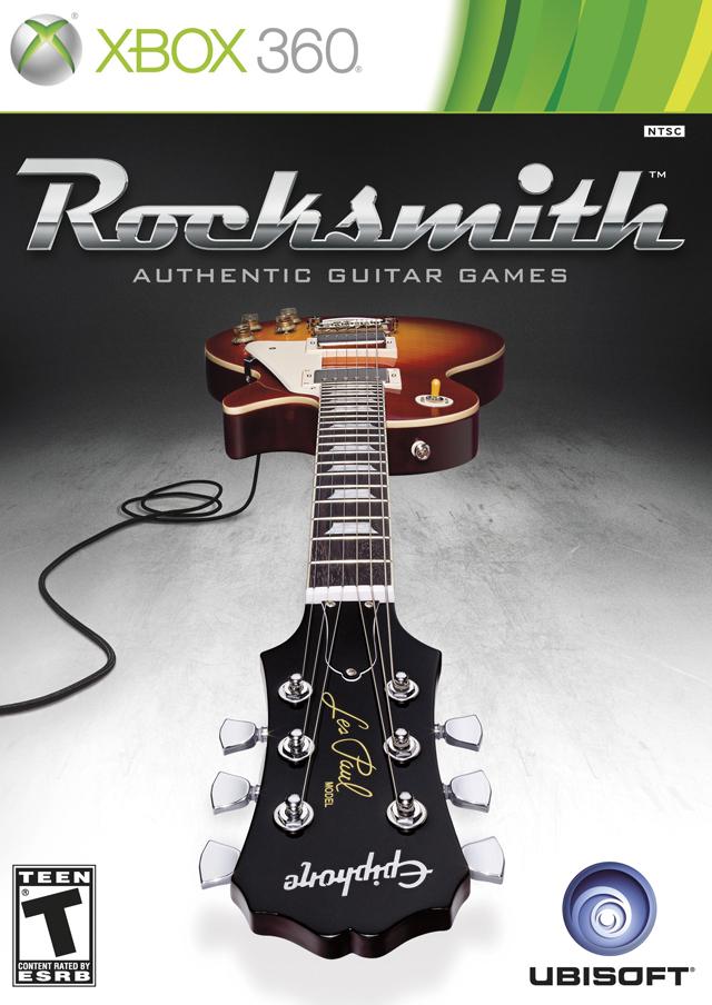 Face avant du boxart du jeu Rocksmith (Etats-Unis) sur Microsoft Xbox 360