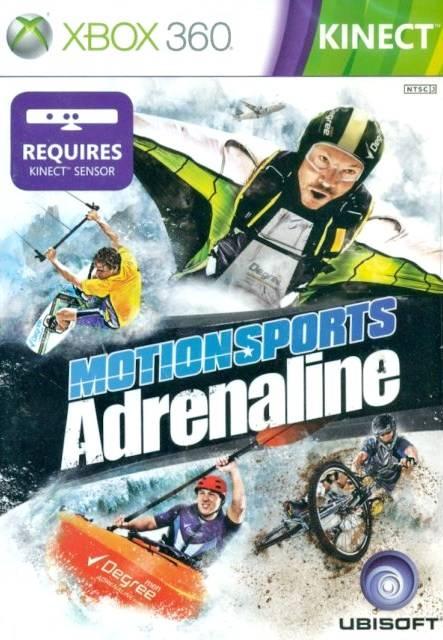 Face avant du boxart du jeu MotionSports Adrenaline (Asie) sur Microsoft Xbox 360