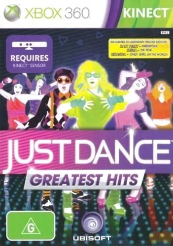 Face avant du boxart du jeu Just Dance - Greatest Hits (Australie) sur Microsoft Xbox 360