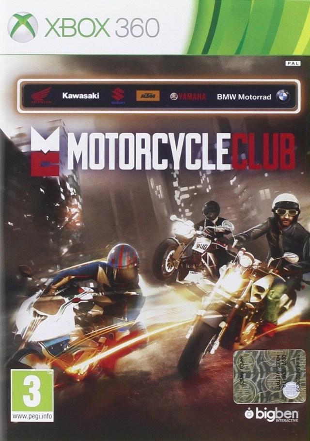 Face avant du boxart du jeu Motorcycle Club (Europe) sur Microsoft Xbox 360