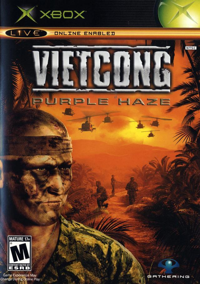 Face avant du boxart du jeu Vietcong - Purple Haze (Etats-Unis) sur Microsoft Xbox