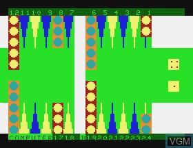 Image in-game du jeu Backgammon sur APF Electronics Inc. APF-MP1000