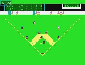 Image in-game du jeu Baseball sur APF Electronics Inc. APF-MP1000