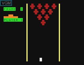 Image in-game du jeu Bowling & Micro Match sur APF Electronics Inc. APF-MP1000