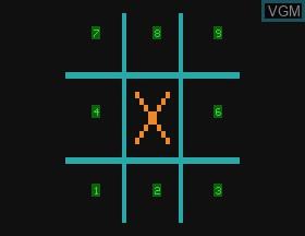 Image in-game du jeu Hangman & Tic Tac Toe & Doddle sur APF Electronics Inc. APF-MP1000