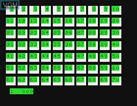 Image in-game du jeu Pinball & Dungeon Hunt & Blockout sur APF Electronics Inc. APF-MP1000