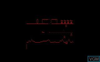 Image in-game du jeu Defender sur Entex Industries Adventure Vision