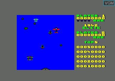 Image du menu du jeu 1942 & Billy La Banlieue & Bombjack & Green Beret sur Amstrad CPC