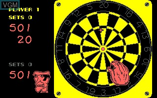 Image in-game du jeu 180 Darts sur Amstrad CPC