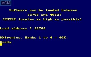 DK'Tronics Bank Switch Software