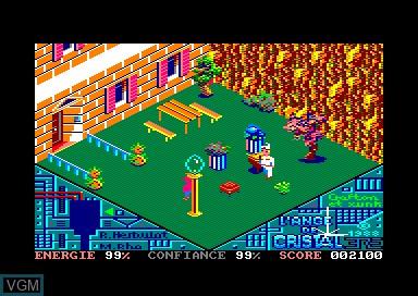 Image in-game du jeu Crafton et Xunk - L'ange de Cristal sur Amstrad CPC