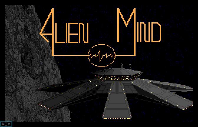 Image de l'ecran titre du jeu Alien Mind sur Apple II GS