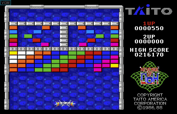 Arkanoid II - Revenge of Doh