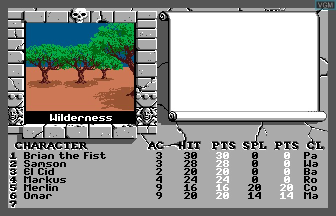 Bard's Tale II - The Destiny Knight, The