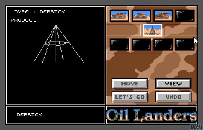 Oil Landers