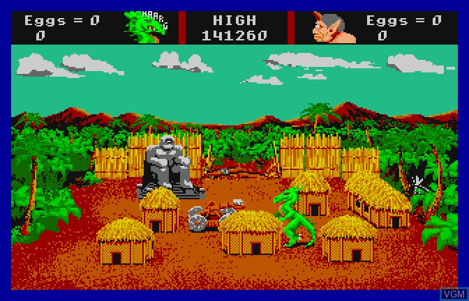 Image in-game du jeu Aaargh! sur Apple II GS